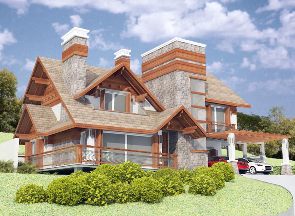 A casa das araucárias