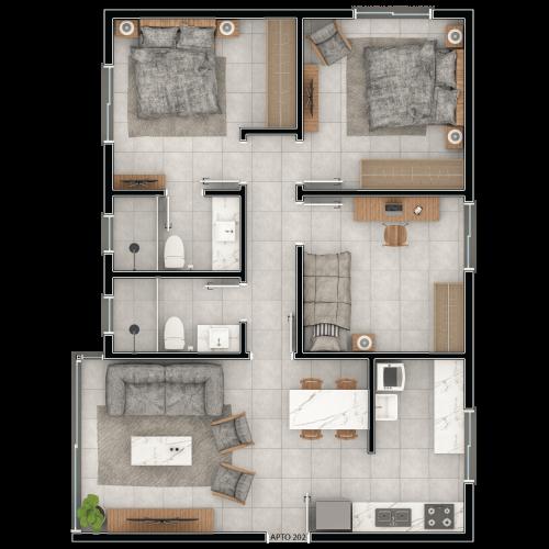 Residencial-Clinton-Plantas